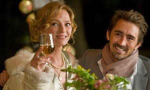"""Uma Thurman and Lee Pace in """"Ceremony"""""""