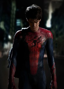 Andrew Garfield in the Spider-Man costume