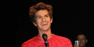 Andrew Garfield at Comic Con 2011 - photo: Splash