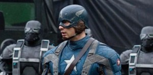 Chris Evans as Captain America (Marvel Studios)