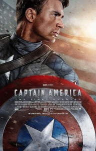 Captain America: The First Avenger, movie poster (Marvel Studios)