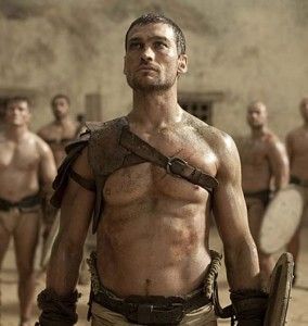 "Andy Whitfield as seen on Starz' ""Spartacus: Blood and Sand"""