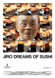 """Jiro Dreams of Sushi"" film poster"