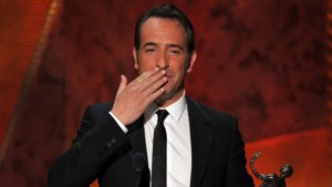 """Outstanding performance by male actor: Jean Dujardin """"The Artist"""""""