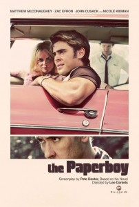 """""""The Paperboy"""" - movie poster"""