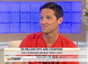 Kony 2012 filmmaker Jason Russell on TODAY Show (NBC)