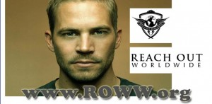 Paul Walker's relief mission: Reach Out World Wide
