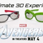 The Avengers RealD 3D Glasses
