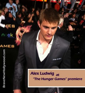 "Alexander Ludwig at ""The Hunger Games"" premiere in Los Angeles, CA - photo: BNH"