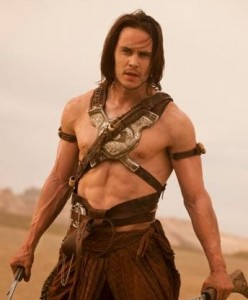 "The stud in that dud: Taylor Kitsch could not give ""John Carter"" a box office life"