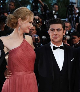Nicole Kidman and Zac Efron. 'The Paperboy' screening at the 65th Cannes Film Festival - photo: Splash