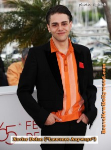 "writer, director Xavier Dolan (""Laurence Anyways"") at  65th Cannes Film Festival - photo: Splash"