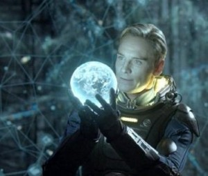 Fassbender in 'Prometheus' - (20th Century Fox)