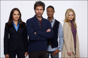 Eric McCormack and company in 'Perception' - (TNT)