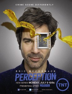 Eric McCormack returns to TV in 'Perception' - (TNT)