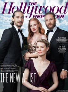 "Jessica Chastain, Mia Wasikowska, Shia Labeouf and Tom Hardy from ""Lawless"" movie 2012"