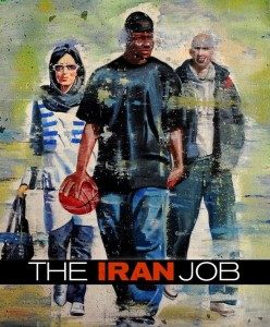 The Iran Job film poster starring Kevin Sheppard