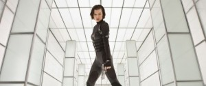 flexing film muscle Resident Evil in 3D