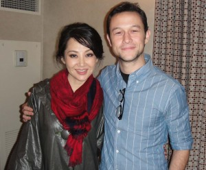 action star, Chinese actress Qing Xu stars is in good company with Joseph Gordon Levitt