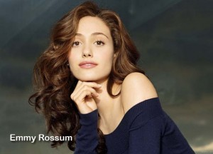 """Emmy Rossum is currently making her mark on Showtime's """"Shameless."""""""