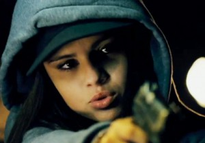 Selena Gomez in action: GETAWAY movie (Warner Bros.)