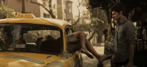"""Actor Sunnie D'Souza is about to ride the """"Calcutta Taxi."""""""