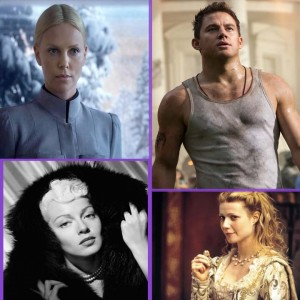 Ambition and Fame (L-R, clockwise): Charlize Theron, Channing Tatum, Gwyneth Paltrow, and Lana Turner found fame as it found them.