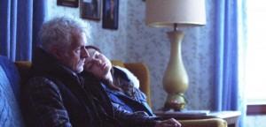 John Slattery and Emily Mead in BLUEBIRD.