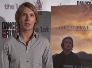"Rising star, Spencer Treat Clark shot indie film, ""Druid Park"" on location in Wyoming and Utah."