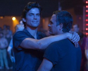 "Matt Bomer (with Mark Rufallo) in HBO's ""The Normal Heart"" (2014), directed by Ryan Murphy."
