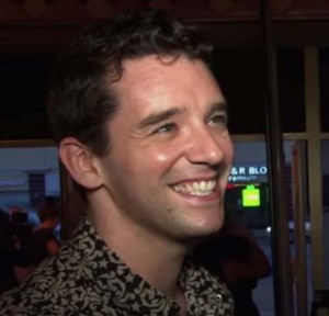 Actor Michael Urie during an interview with Brave New Hollywood