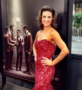 JERSEY BOYS actress Renée Marino at the L.A. Film Festival premiere for the film.