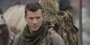 Actor Chad Michael Collins as the new shooter in the Sniper Legacy movie