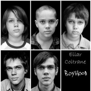 "In real time, newcomer Ellar Coltrane aged, and showcased his talent in ""Boyhood."""
