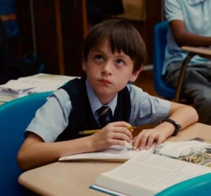 "The 11-year-old Jaeden Lieberher shines opposite Bill Murray in ""St. Vincent."""