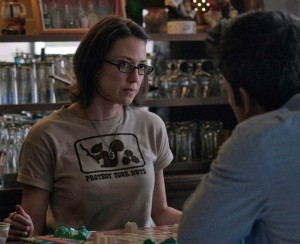In 2014 thriller, GONE GIRL's Carrie Coon played Ben Affleck's sister.
