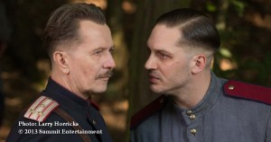 Tom Hardy, and Gary Oldman join forces to hunt for a serial killer in CHILD 44 - photo: Larry Horricks r