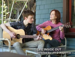 Starring Maggie Baird, Finneas O'Connell, the love of music and songwriting helps mother and son connect in LIFE INSIDE OUT.