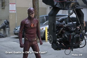 CW's massively popular THE FLASH stars Grant Gustin