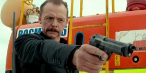 Simon Pegg goes dark and moustached, as an assassin, in  Kill Me Three Times