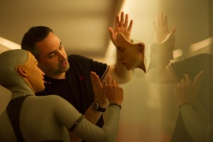 Director Alex Garland and actress Alicia Vikander collaborate on Ex Machina - A24 Films