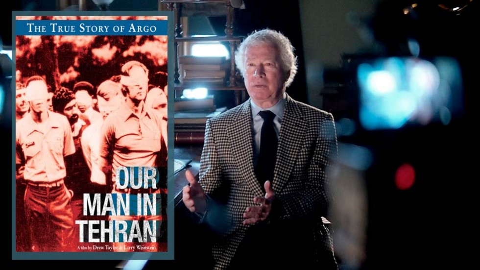 Embassador Ken Taylor tells his story in Our Man in Tehran, documentary (First Run Features).