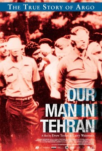Our Man in Tehran poster, documentary (First Run Features)