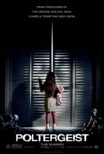 The new poster for Poltergeist 2015 featuring Kennedi Clements