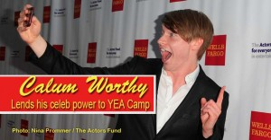 Disney superstar Calum Worthy brings his name and celebrity power to youth activism Camp.
