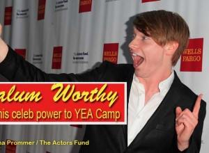 Disney superstar Calum Worthy brings his name and celebrity power to YEA Camp this summer.