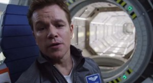 The Martian is based on the New York Times best seller by Andy Weir