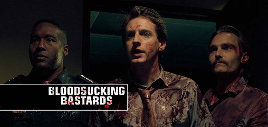 written by Dr. God and Ryan Mitts, Blood Sucking Bastards takes a bite out of office culture