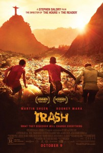 'Trash' is a bilingual film in English and Portuguese, about life, loyalty and crime in the Rio slums