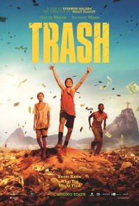 Indie drama: life and loyalty in Rio's slums. Trash, by director Stephen Daldry